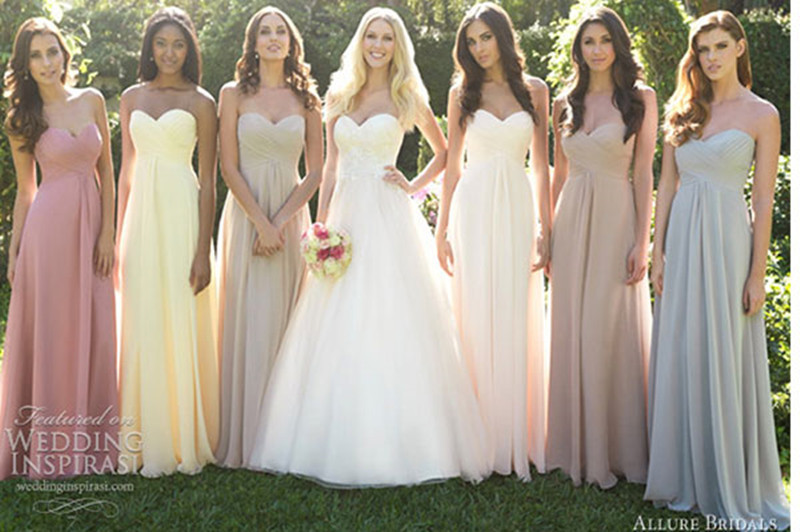Popular Rainbow Bridesmaid Dresses-Buy Cheap Rainbow