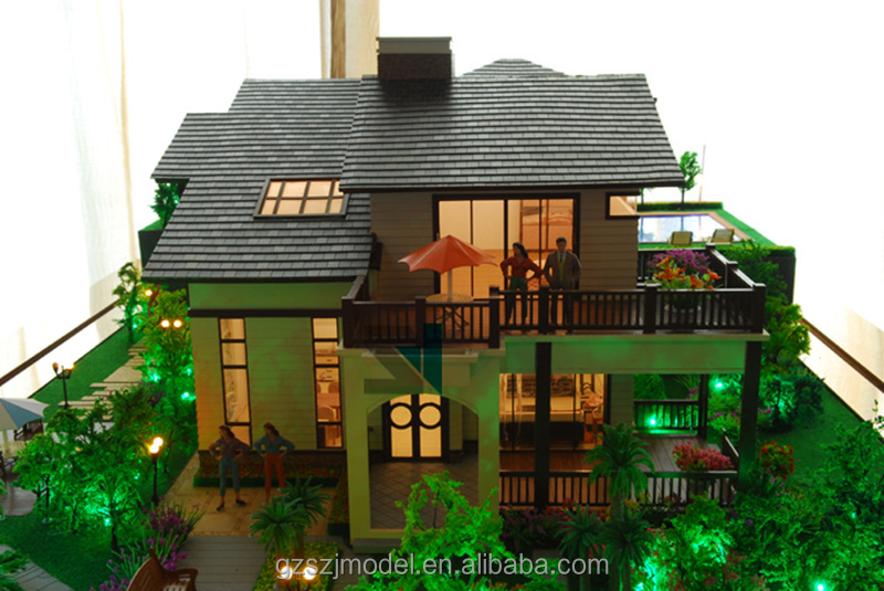 Professional building model/miniature architecural model/scale model maker