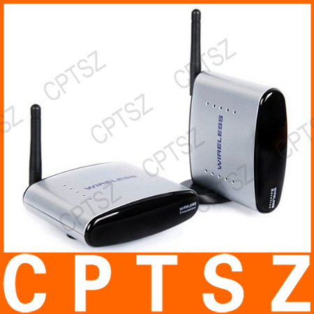 2.4GHz Wireless AV Sender TV Audio Video Transmitter Receiver PAT-330