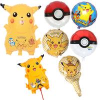 Hotsale Custom Kids Pokemon Pikachu Aluminium Foil Balloon - Buy ...