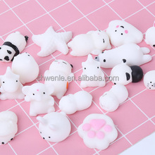 Lovely decompression soft squishy small figure toys