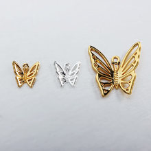 925 sterling silver custom 곤충 butterfly charm manufacturer