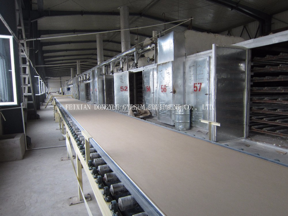 factory plasterboard/gypsum board production line/plant