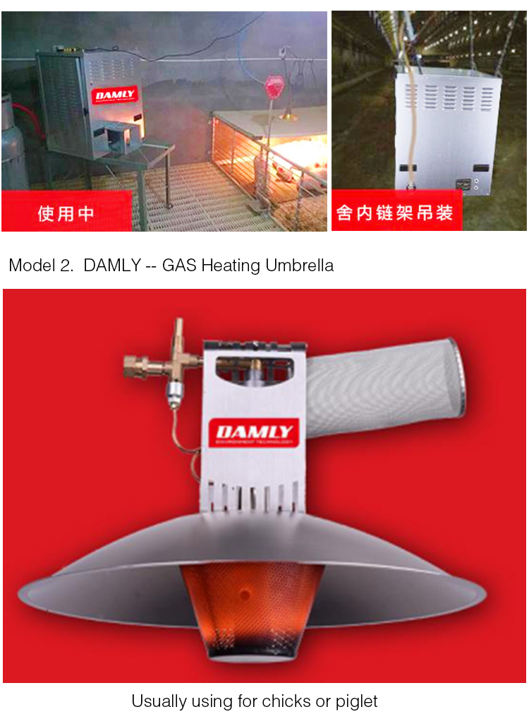 Good Quality and Reasonable Price Pig Farm Heating Equipments