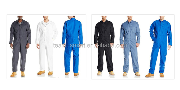 High Quality Workwear Coverall Factory Worker Uniforms