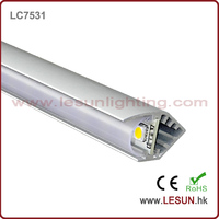 LC7531 SMD led jewelry led strip with aluminum track