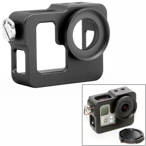 Aluminium Alloy Housing Shell Matel Protective Case For GoPro Hero 4 / 3+ / 3