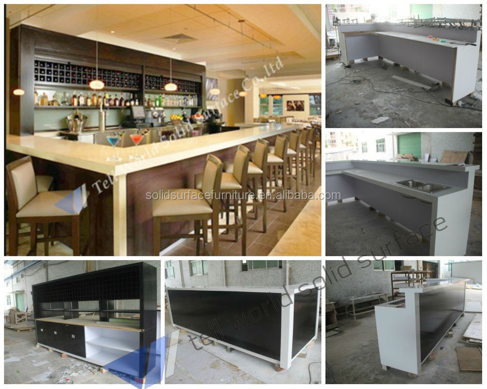 Factory Price Modern Design Commercial Counter Top Luxury Sushi Bar Product On