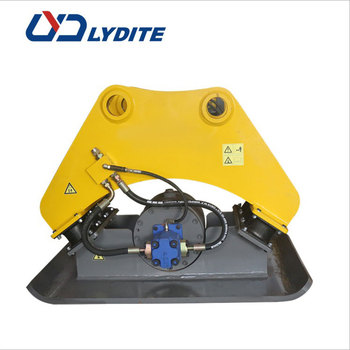 Low noise and high vibrate Hydraulic Vibrating Plate Compactor equipment vibro plate compactor and Hydraulic Compactor for sale