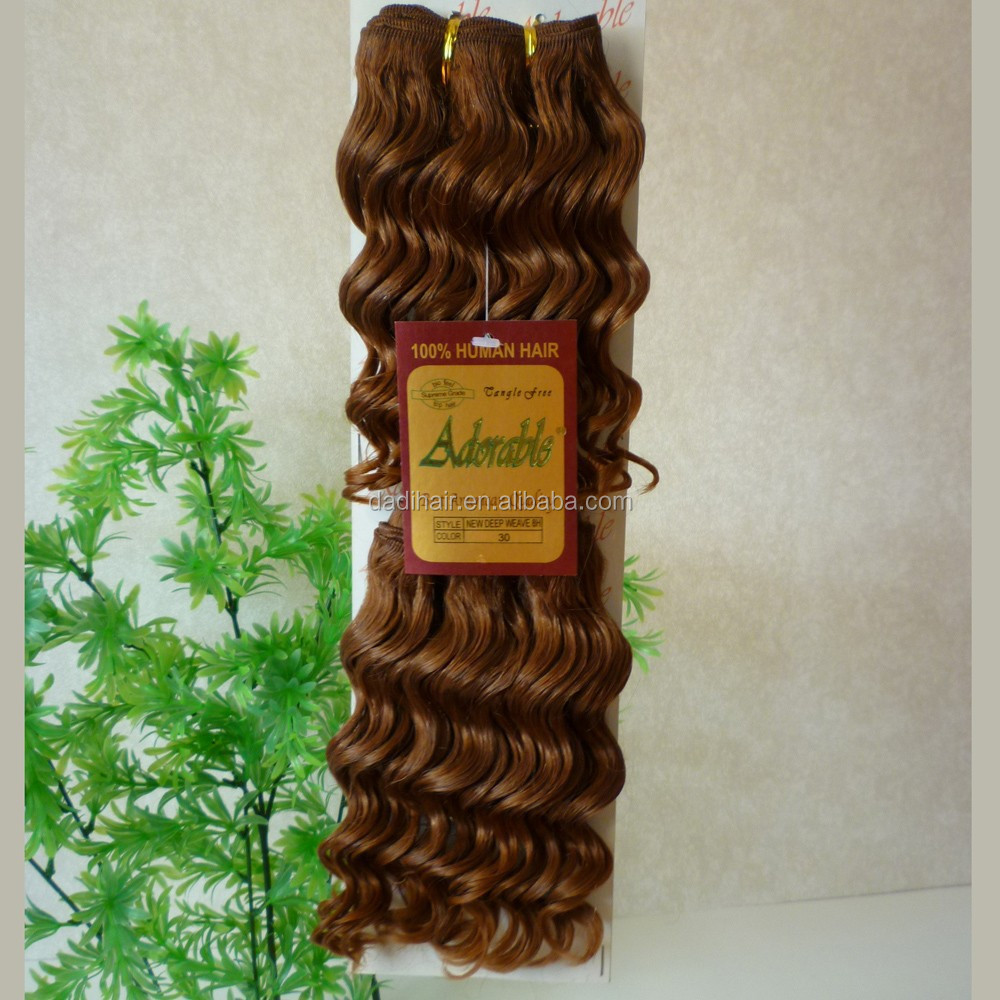 color 30# curly Remy Hair Hair Grade natural raw remy virgin indian human hair extensions, N/a