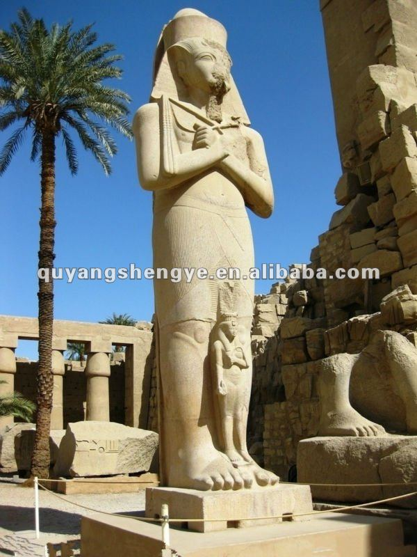 Famous the Pharaohs of Ancient Egypt sculpture