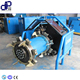 pipe beveling machine with portable flange for pipe chamfering pneumatic tube pipe facing machine