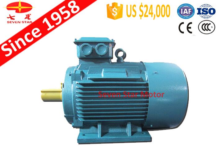 100% cuivre 7.5 hp moteur électrique pour compresseur d'air en