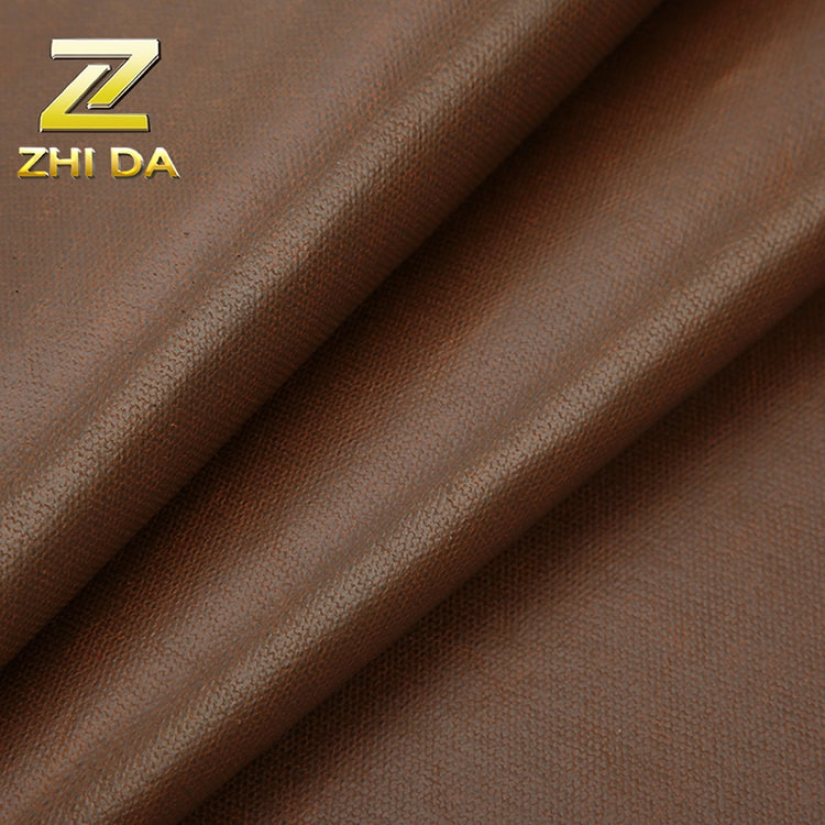 Wholesale 80% cotton 20% polyester coated fabric water repellent fabric for duffle bag