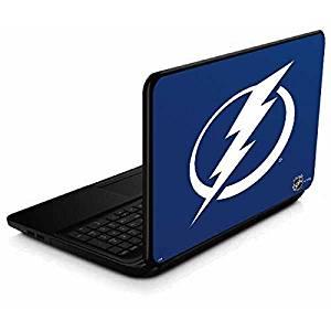 NHL Tampa Bay Lightning 15.6 in 15-d038dx Skin - Tampa Bay Lightning Logo Vinyl Decal Skin For Your 15.6 in 15-d038dx