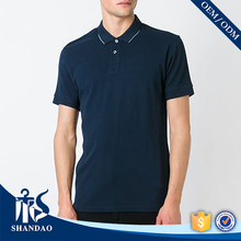 Guangzhou shandao factory short sleeve 200g 95%cotton 5%spandex mens stylish apparel outsourcing companies