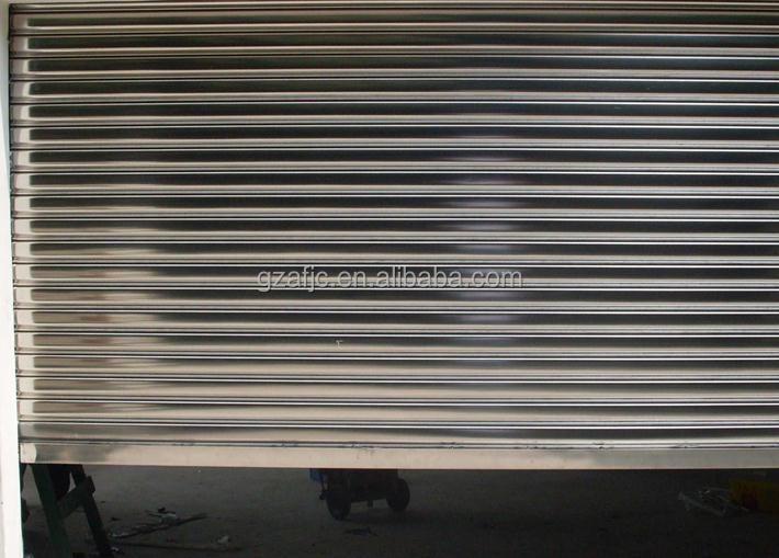 Guangzhou Stainless Steel Roll Up Door Metal Roll Up Doors