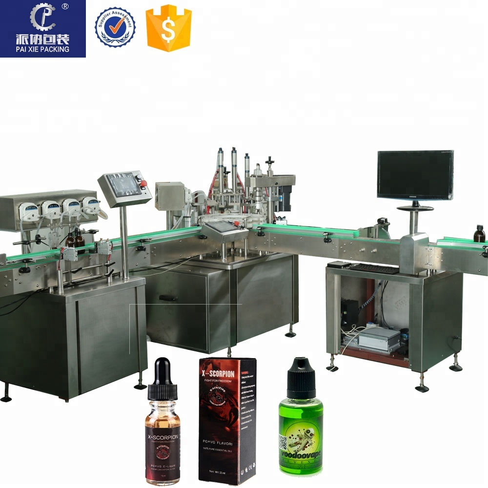 fresh choice electric cigarette rouille filling machine essential oil packing line filing capping machine