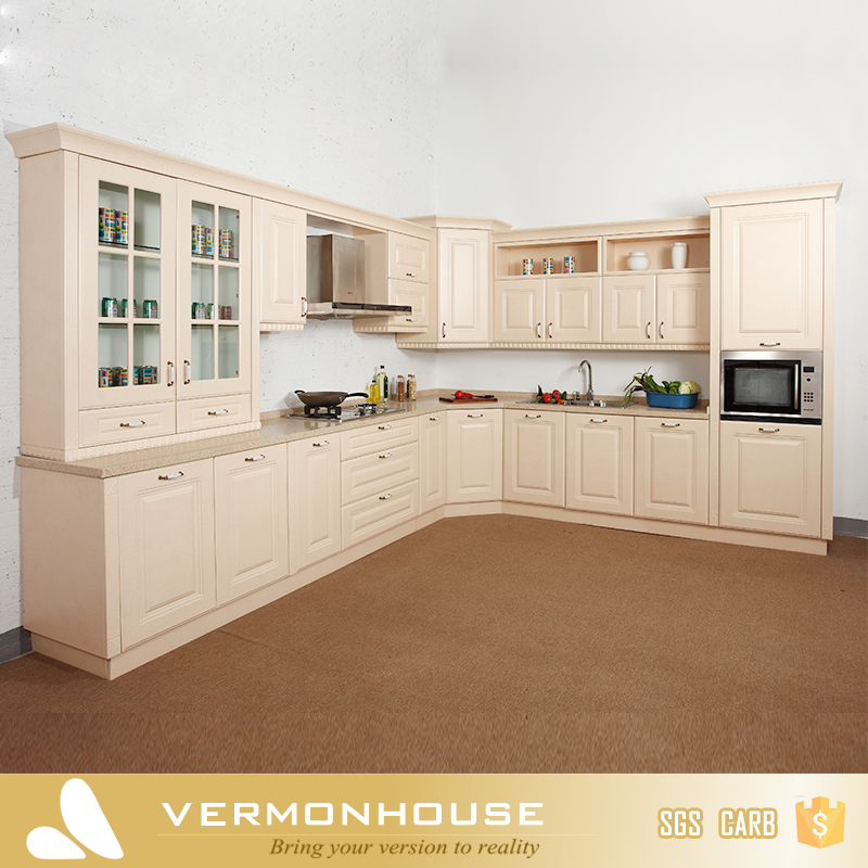 Vermont Free Design PVC Membrane Door Panel Kitchen Made Cabinets