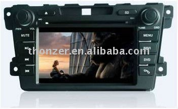 "7"" Special CAR DVD PLAYER WITH GPS For Mazda CX-7 support BOSE system (TZ-MZD7024 )"