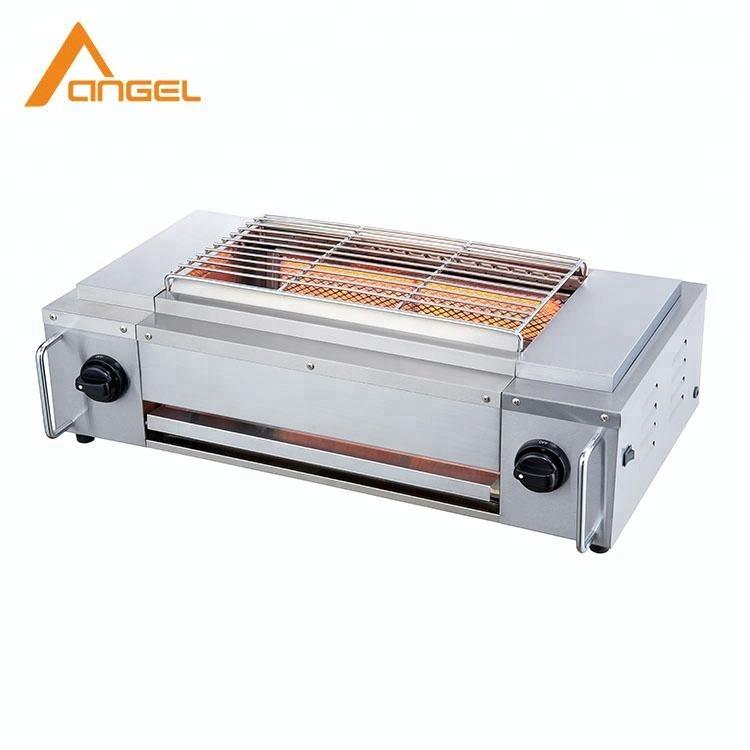 Portable Indoor Iron Grill Design Bbq Gas For Veranda