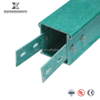 metal solid trough colored cable trunking/frp cable tray Prices