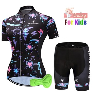Children Ropa Ciclismo Bike Clothing Riding Summer Cycling Jersey