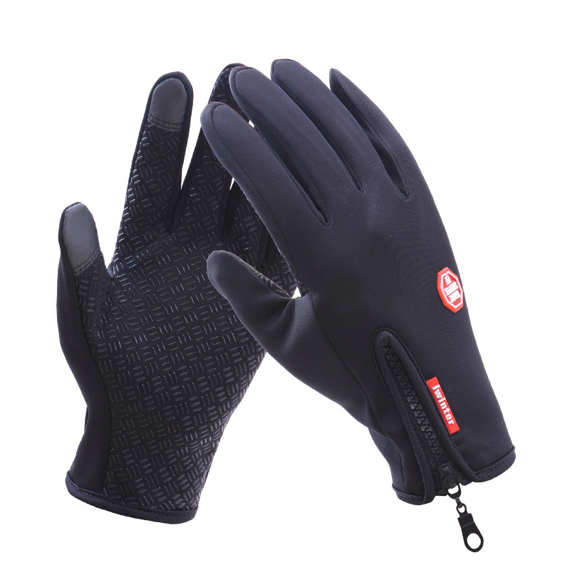 Waterproof touch screen gloves wholesale in various color available