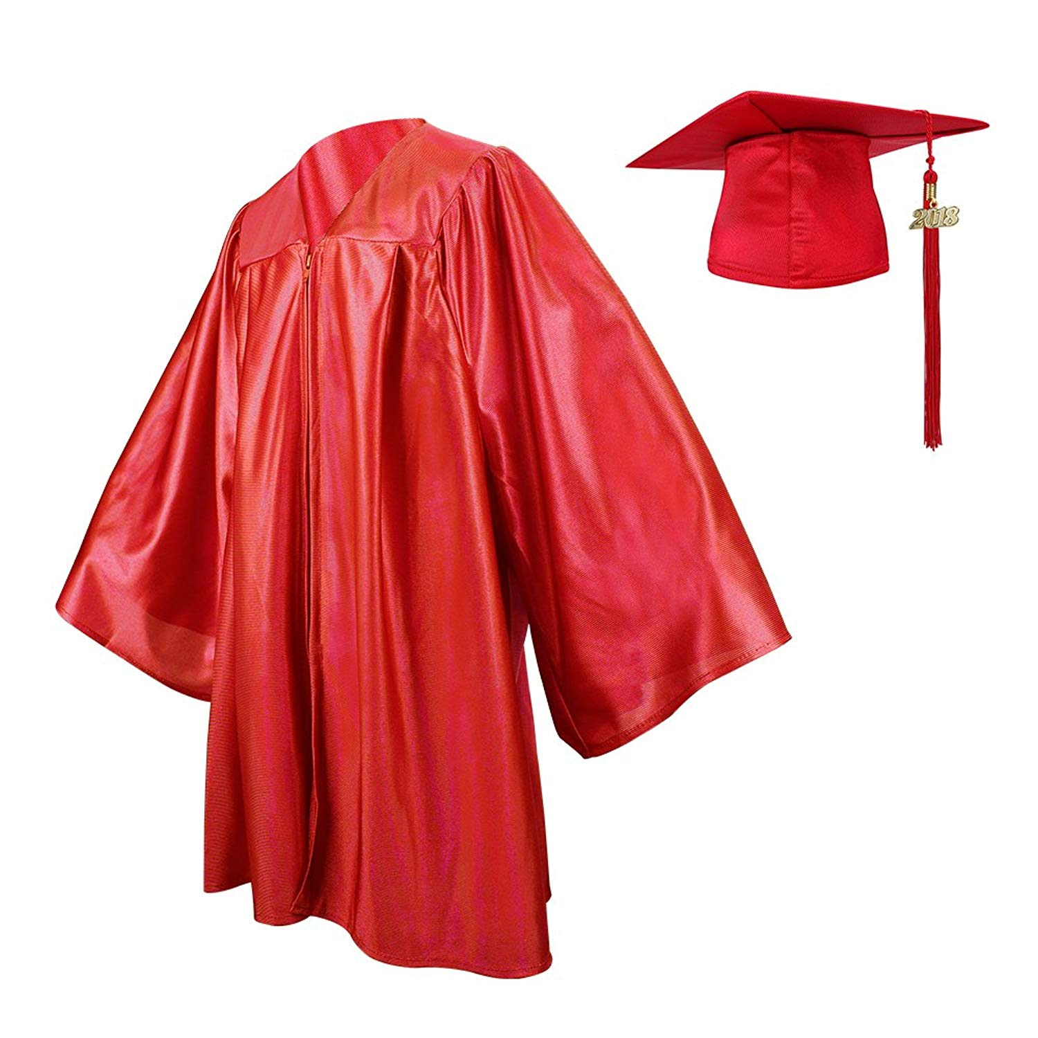 92a4c5bde13 Ninuo Shiny Kindergarten Graduation Gown Cap Tassel Set 2018 Costume Robes  for Baby Todder Kids Photography
