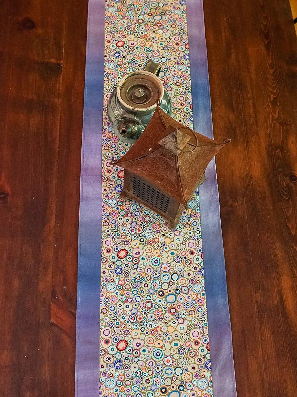 Blue Ombre Table Runner-Tableware-Modern Decor-Beach Decor-Boho Cottage Decor-Gift