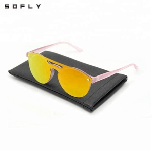 Xiamen Sofly High Quality Polarized Gold One Piece Lenses Sunglasses