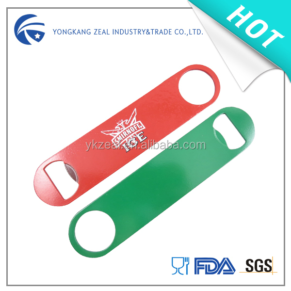Zeal CO001B stainless steel promotional colorful paint can opener