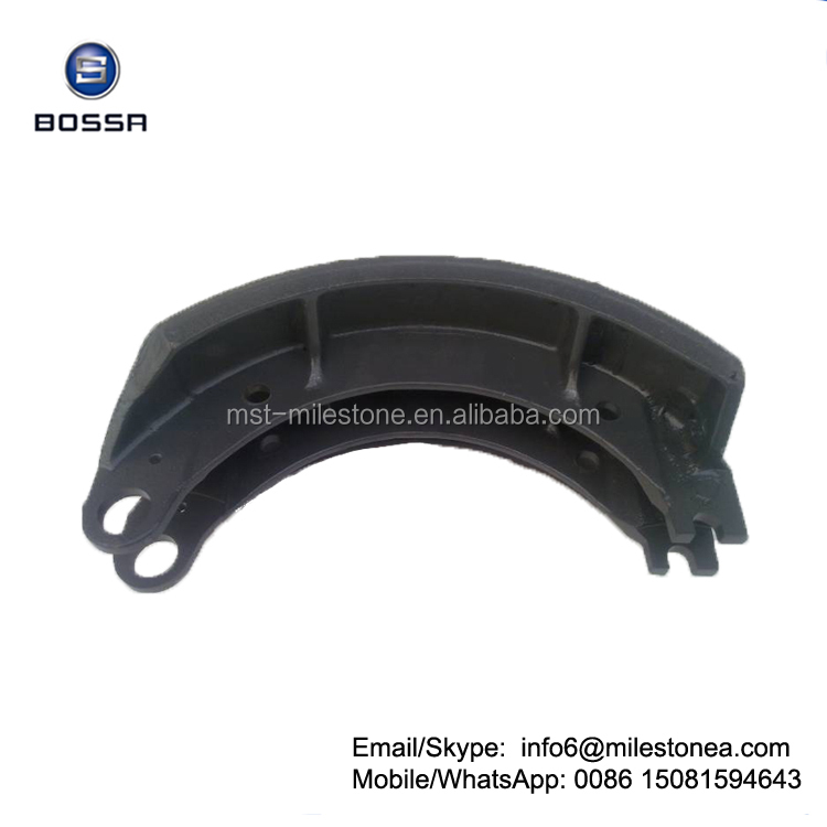 Truck axle parts brake shoe for Kamaz 6520-3501095