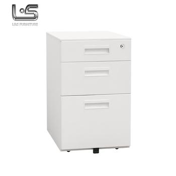 3 Drawer Mobile Pedestal Filing Cabinet