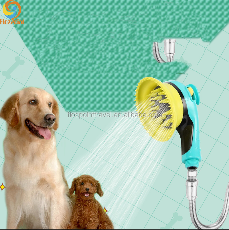 Dog cleaning tools various hose connection cat shower tool pet shower sprayer