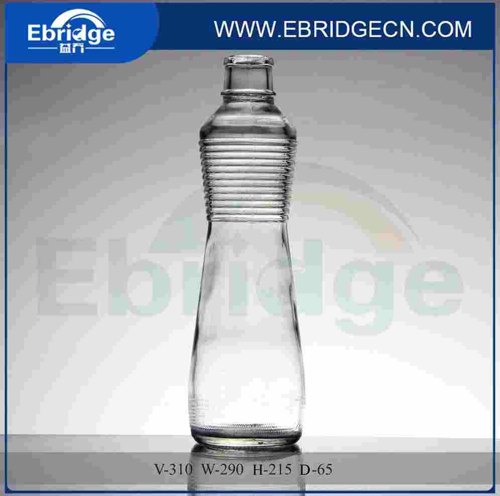 nouveau design bouteille d'eau minérale en verre bouteille voss bouteille  d'eau en verre de forme - buy bouteilles d'eau minérale en verre sur