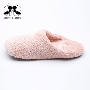 High performance indoor pink stuff bedroom silicon slippers