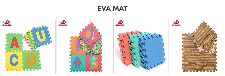Hight quality eco friendly eva educational floor baby play puzzle mat