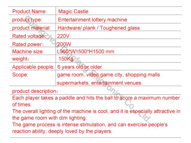 magic castle kids Air Hockey  Arcade Amusement Game Machine 2 in 1 Air Hockey Table