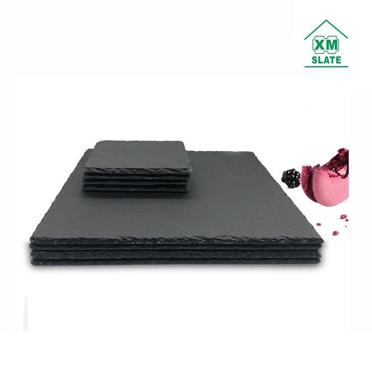 Factory Direct Quality Guarantee Wholesale Amazon Ebay 30x30cm Slate Cheese Plate Cheese Board Slate Plate Slate Stone Plate Buy Slate Cheese