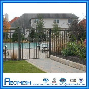 Modern European Latest Main Fence Gate Designs, Decorative Garden Fencing  Panel Wholesale