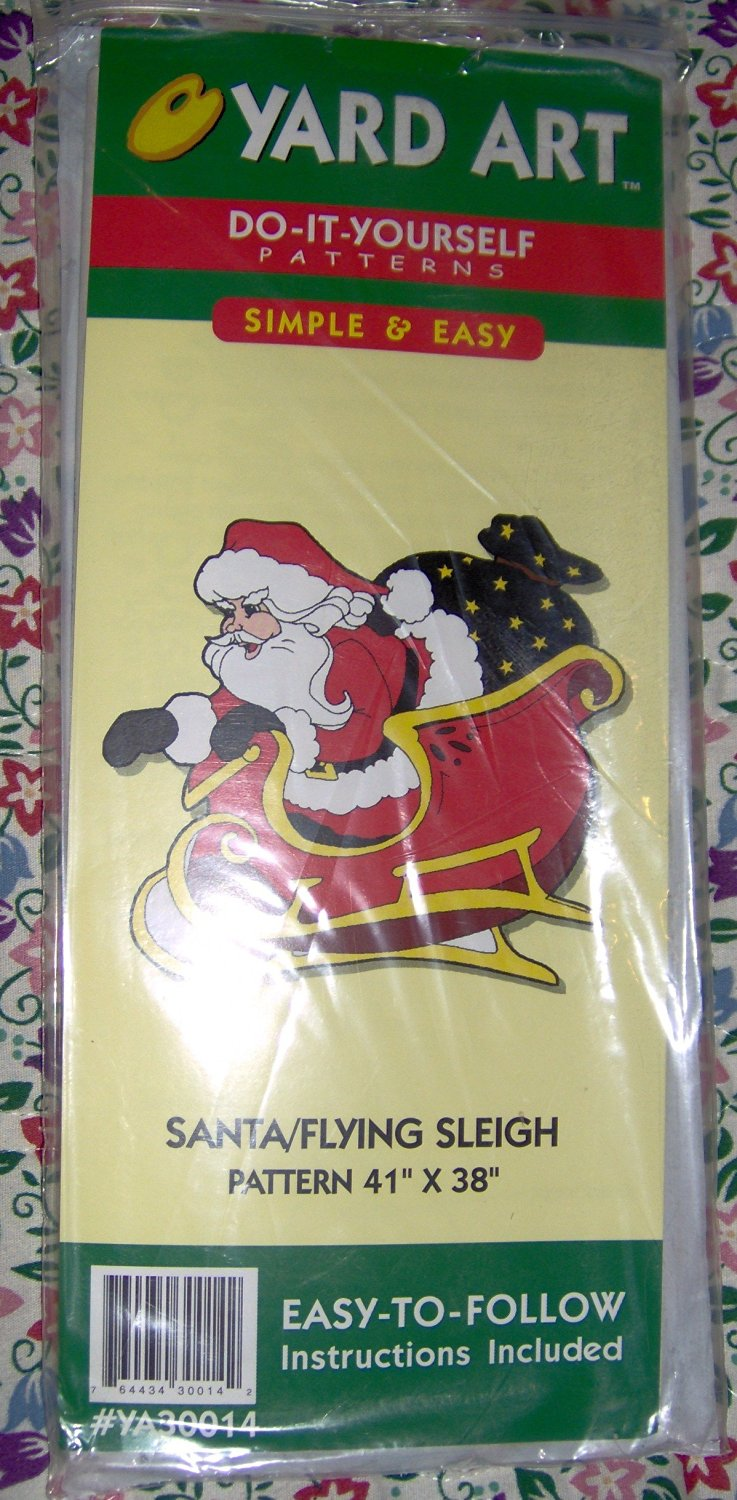 Cheap santa yard art find santa yard art deals on line at alibaba get quotations santa and flying sleigh do it yourself yard art patterns 41 solutioingenieria Images