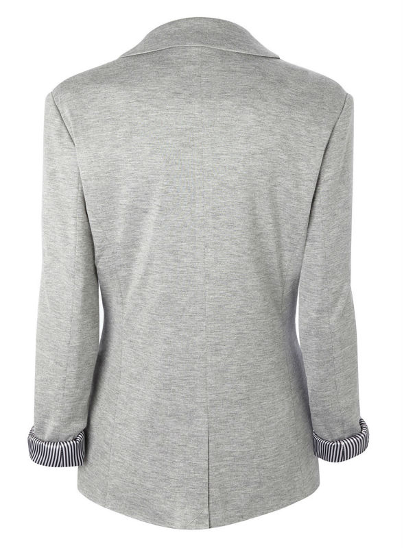 Custom Viscose Light Weight Grey Jersey Blazer/casual Blazer For ...