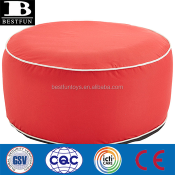 Outstanding Luxe Inflatable Pouf With Fabric Cover Durable Comfort Blow Up Foot Rest Stool Chair Ottoman Buy Ottomans And Pouf Inflatable Pouf Inflatable Foot Alphanode Cool Chair Designs And Ideas Alphanodeonline