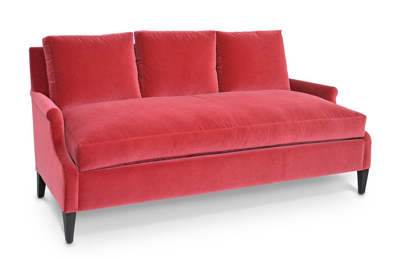 Get Quotations · Beverly Modern Furnitures Trousdale Gallerie Sofa | Made  In USA | Handmade Luxury Chairs, Couch