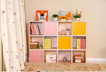 Hot Selling And High Quality Kindergarten Kids Modern Tree Shaped Bookshelf