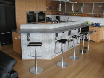 Modern Home Kitchen Bar Counter Design