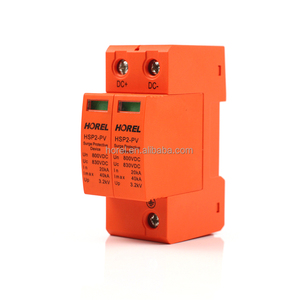 Lightning Arrester AC DC SPD 500V 1000V 20KA-40KA power surge protection device