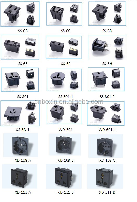 Hot Sale Alibaba Germany France Schuko Plug Electric
