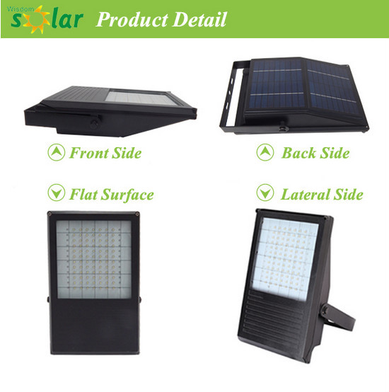 Super bright solar led flood light outdoor sign & biilloard light